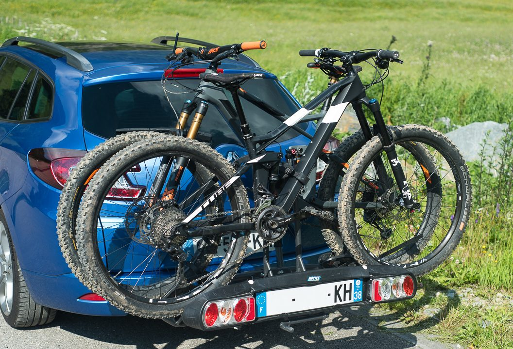 Porte vélo attelage - image