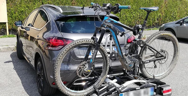 Porte-vélo attelage - image